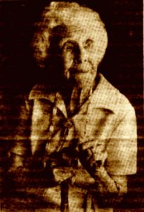 Janet Somerville Brown [aged 100]