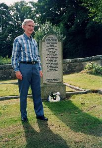 Dave Reeves at Cockpen Cemetery